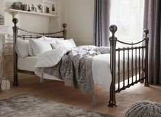 Nelson Metal Bed Frame | Dreams