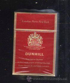 cigarrillos dunhill antiguo - Buscar con Google
