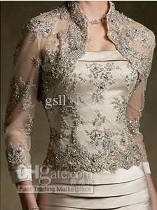 Wholesale Evening Dresses - Buy Sexy Lace Long Sleeve Vintage Mother of the Bride Dress with Jacket, $100.63 | DHgate
