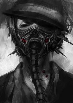 mascaras de gas anime - Buscar con Google