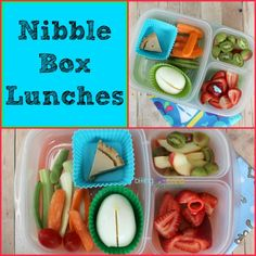 Going on a car trip? Or the movies? Take along a snack box! EasyLunchboxes fit all laps, small and large. This one's by Kendra of Biting the...