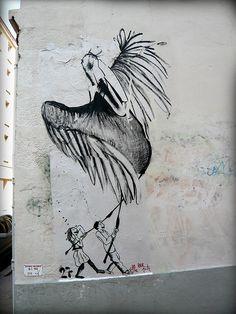 saint-étienne, 2008. Ella & Pitr Street Artists