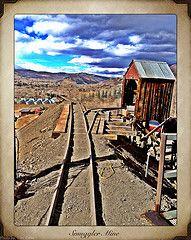 Smuggler Mine, Aspen Co. Photo by Toni Case.