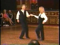 Charlie & Jackie Spotlight Dance at ShagAtlanta Christmas Party 2014 - YouTube