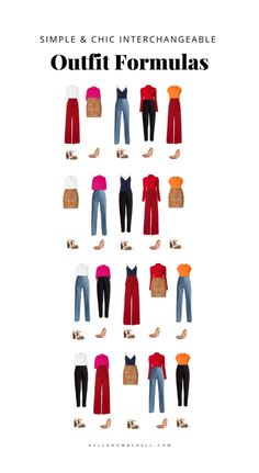 Capsule Wardrobe How To Build A, French Capsule Wardrobe, Work Wardrobe, Wardrobe Basics, Minimal Wardrobe, Capsule Outfits, Fashion Capsule, Girly Outfits, New Outfits