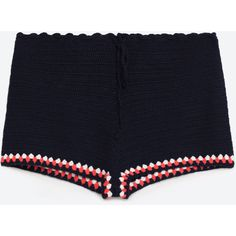 CROCHET SHORTS (9.26 AUD) ❤ liked on Polyvore featuring shorts and crochet shorts