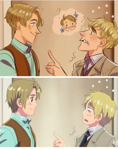 Hetalia America and England Time Goes by Quickly! Time In England, Pop Up Karten, Latin Hetalia, Hetalia England, Hetalia America, Hetalia Axis Powers, Usuk, Another Anime, Funny Animals