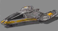 A simple drawing of a Koensayr multi-purpouse ship. I liked the Clone Wars variant of the classic, but I thought that the company could be making more ships. This vessel is a single-seater but has ...