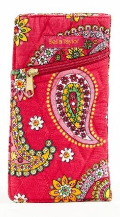 Bella Taylor Jazzberry Quilted Cotton Eye Glass Case Victorian Heart Co., Inc.. $10.45