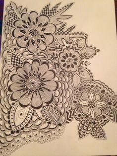 Ink doodles  By: Debra Lloyd