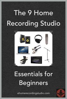 52c-Home Recording Studio Essentials