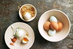 Dukkah With Hard-Boiled Eggs