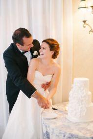 Elegant Toile Inspired Miami Garden Wedding - Style Me Pretty