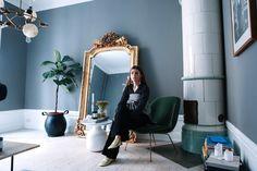 Bridal Boutique Interior Color Schemes Ideas For 2019 Home Interior Design, Interior Architecture, Interior And Exterior, Bridal Boutique Interior, Modern Scandinavian Interior, Interior Color Schemes, Blue Rooms, Cozy House, Colorful Interiors