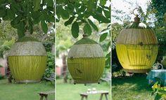 DIY - Fabriquer un lampion pour le jardin
