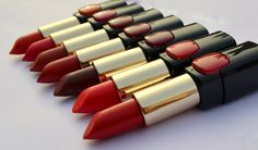 7 L'Oreal Color Riche Pure Reds Star Collection Lipsticks: Reviews, Swatches, Shades, Price