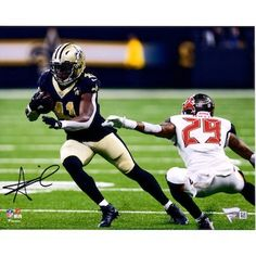 3ee30a6f73ba5 Autographed New Orleans Saints Alvin Kamara Fanatics Authentic 8