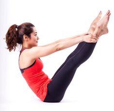 Barriga chapada em 8 passos: exercícios de pilates milagrosos para fazer em casa | MdeMulher