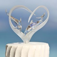 Image result for wedding cake toppers dolphins
