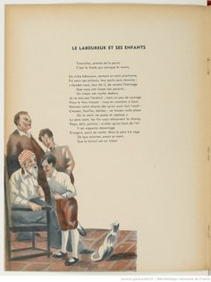 Fables de La Fontaine | Gallica Les Fables, Quote Citation, Learning Italian, French Language, Movie Quotes, Vintage Images, France, Messages, Education