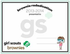 Girl Scouts - Investiture & Rededication on Pinterest ...