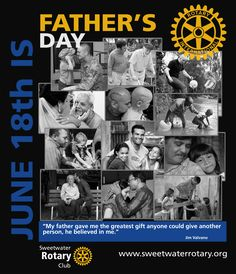 Father's Day 2017 Rotary Club, Fathers Day, Give It To Me, Father's Day