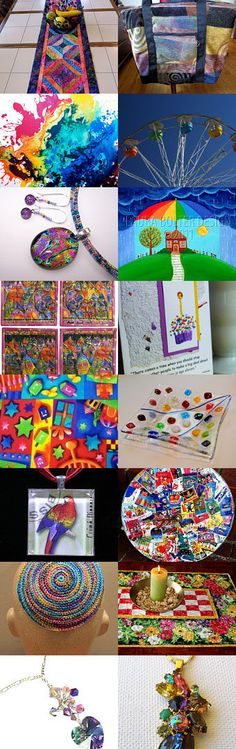 Colors of the Rainbow by Gail on Etsy--Pinned with TreasuryPin.com