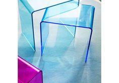 Acrylic Nesting Side Tables