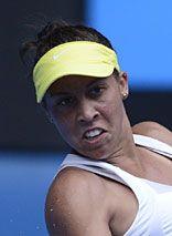 Madison Keys def. Jarmila Gajdosova  in straight sets to advance to 2nd round
