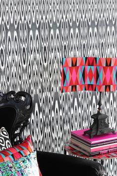 Wallpaper designed by Mariska Meijers