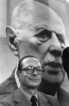 Général de Gaulle & Jacques Chirac