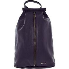 Matt & Nat Plum Lawrence Backpack
