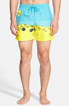 Vilebrequin+'Moorea+-+Le+Plage'+Print+Swim+Trunks+available+at+#Nordstrom
