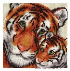 tiger cross stitch - Google Search