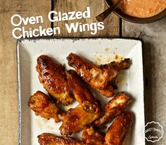 This holiday season, try swapping out delivery for something homemade. Fill your home with the aromatic scents of these Oven Glazed Chicken Wings that use SPLENDA®Sugar Blend.[[MORE]]Oven Glazed Chicken Wings RecipeServing Size: 5 oz.Servings Per Recipe: 3INGREDIENTS3 tablespoons butter1 tablespoon garlic, chopped¼ cup hot sauce¼ cup tomato paste3 tablespoons SPLENDA®Sugar Blend2 tablespoons soy sauce1 tablespoon cider vinegar¼ teaspoon liquid smoke¼ teaspoon caye...