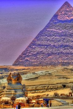 The Pyramids at Giza, Egypt - One of the Seven Wonders of the World Dream Vacations, Vacation Spots, Places To Travel, Places To See, Travel Destinations, Wonderful Places, Beautiful Places, Amazing Places, Beautiful Pictures