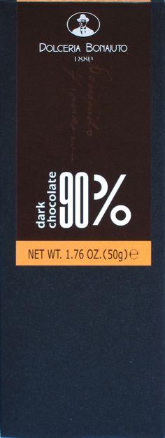 Dolceria Bonajuto 90% Modica-Schokolade