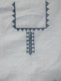 Embroidery of the Yoke complete