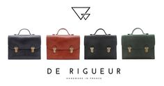 Baise en ville De Rigueur faits en France http://www.showstyle.lu/brands/de-rigueur/
