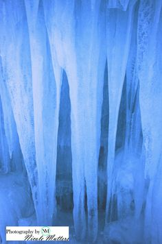 Loon mountain ice castle wall. http://www.facebook.com/pages/Photos-by-Nicole-Mutters/210703892317779