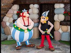 Dans les coulisses  des parcs d'attractions Asterix.