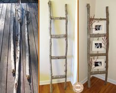 It's simple. It's elegant. It's functional. Agree or disagree? You'll never look at old ladders the same way again after viewing a full album of upcycled ladders on our site at http://theownerbuildernetwork.co/recycled-and-repurposed/ladders-not-just-something-to-stand-on/ Are you feeling inspired? Let us know in the comments section.
