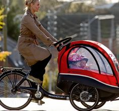 Five Cool Cargo Bikes And The Return Of The Long John : TreeHugger