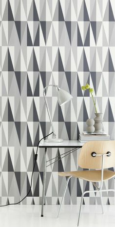 "Ferm Living ""spear"" wall paper   (yes, ... danish design...)"