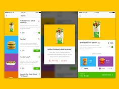 MacD Food ordering app Concept_more by Ajinkya Bhagwat Chicken Patties, Delivery App, King And Country, Order Food, Big Mac, Drink Menu, Yum Yum Chicken, Ads, Concept