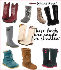 Must-Have Fall Boots for your Fancy Girl's Closet