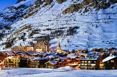 Val d'Isere in France #winter #travel