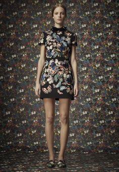 Camubutterfly Valentino dress