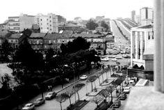 Gran Vía, praza de América e avenida de Castelao