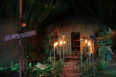 voodoo woman's shack in Bayou